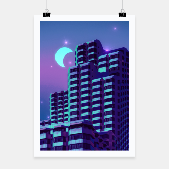Miniatur Midnight City Poster, Live Heroes