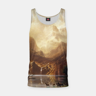 Thumbnail image of Among the Sierra Nevada, California by Albert Bierstadt Tank Top, Live Heroes