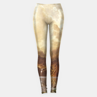 Thumbnail image of Among the Sierra Nevada, California by Albert Bierstadt Leggings, Live Heroes