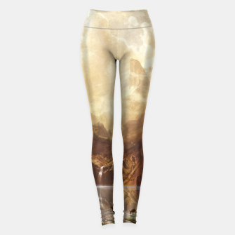 Among the Sierra Nevada, California by Albert Bierstadt Leggings thumbnail image