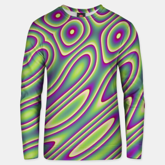 Miniatur Purple Green Psychedelic Trip (LH070) Unisex sweater, Live Heroes