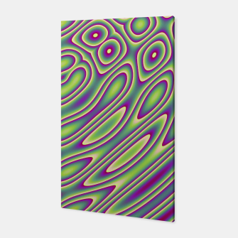 Miniatur Purple Green Psychedelic Trip (LH070) Canvas, Live Heroes