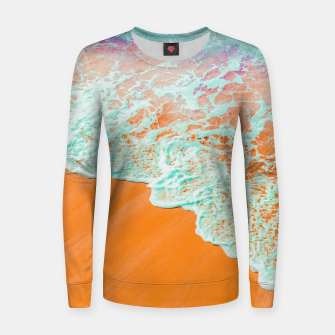 Thumbnail image of Coral Shore Women sweater, Live Heroes