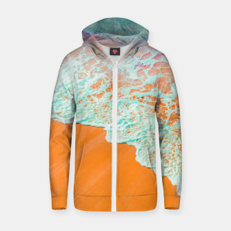Coral Shore Zip up hoodie thumbnail image