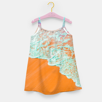 Coral Shore Girl's dress imagen en miniatura