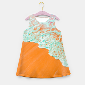 Coral Shore Girl's summer dress imagen en miniatura