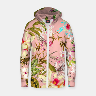 Thumbnail image of Gardenia Zip up hoodie, Live Heroes