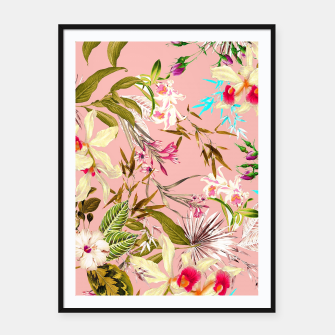 Thumbnail image of Gardenia Framed poster, Live Heroes
