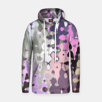 Thumbnail image of Violet shades wood, abstract geometric jagged shapes, sharp forms Hoodie, Live Heroes
