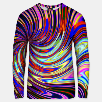 Psychedelic Swirl Hallucination (LH072) Unisex sweater thumbnail image