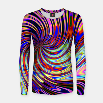 Psychedelic Swirl Hallucination (LH072) Women sweater thumbnail image