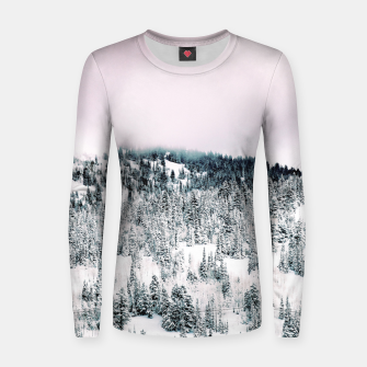 Thumbnail image of Snow Season Women sweater, Live Heroes
