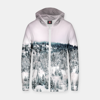 Thumbnail image of Snow Season Zip up hoodie, Live Heroes