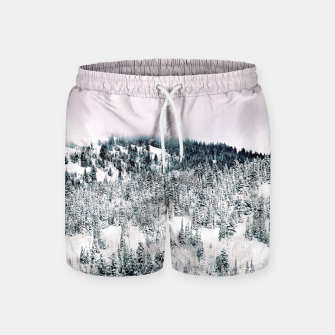 Thumbnail image of Snow Season Swim Shorts, Live Heroes