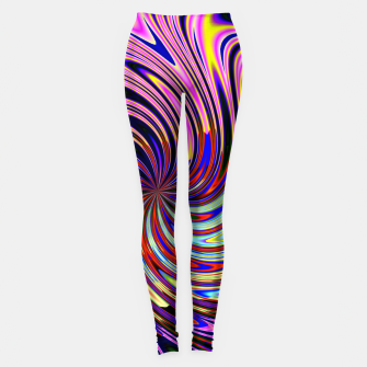 Psychedelic Swirl Hallucination (LH072) Leggings thumbnail image