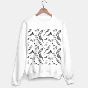 Thumbnail image of Black and white birds  Sweater regular, Live Heroes