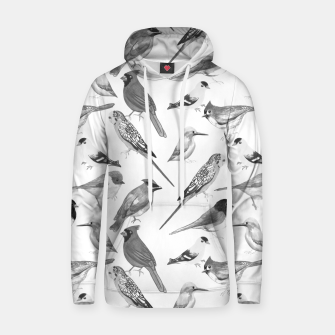 Thumbnail image of Black and white birds  Hoodie, Live Heroes