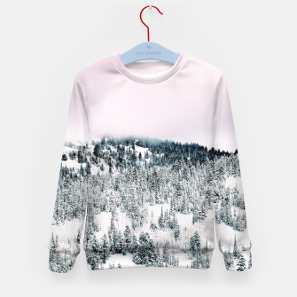 Miniature de image de Snow Season Kid's sweater, Live Heroes