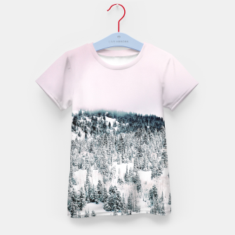 Miniature de image de Snow Season Kid's t-shirt, Live Heroes