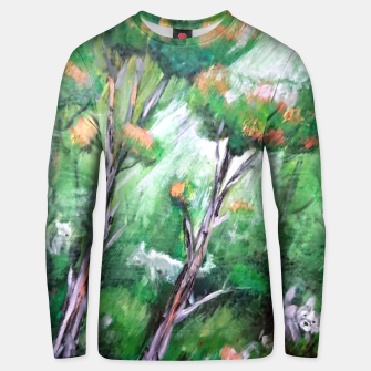 Thumbnail image of Moment in the forest Unisex sweater, Live Heroes