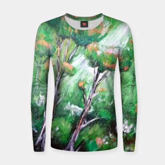 Imagen en miniatura de Moment in the forest Women sweater, Live Heroes