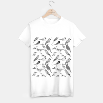 Thumbnail image of Black and white birds  T-shirt regular, Live Heroes