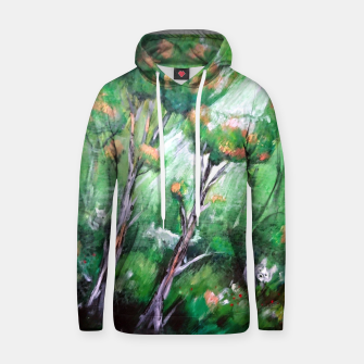 Thumbnail image of Moment in the forest Hoodie, Live Heroes