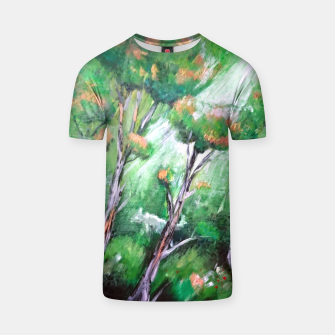 Miniatur Moment in the forest T-shirt, Live Heroes