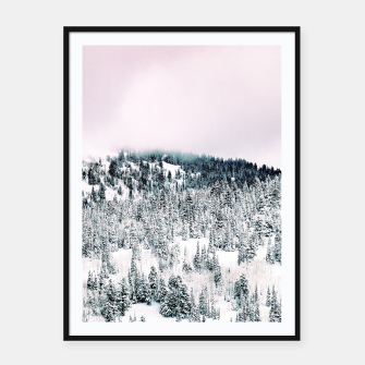 Thumbnail image of Snow Season Framed poster, Live Heroes