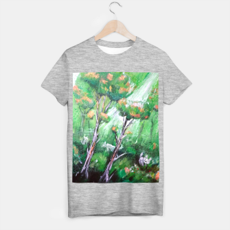 Thumbnail image of Moment in the forest T-shirt regular, Live Heroes