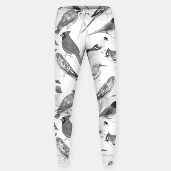 Thumbnail image of Black and white birds  Sweatpants, Live Heroes
