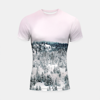 Thumbnail image of Snow Season Shortsleeve rashguard, Live Heroes