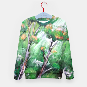 Thumbnail image of Moment in the forest Kid's sweater, Live Heroes