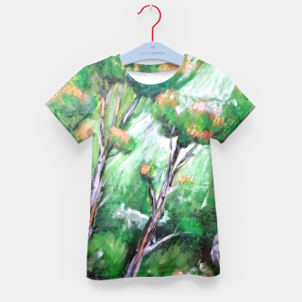 Thumbnail image of Moment in the forest Kid's t-shirt, Live Heroes