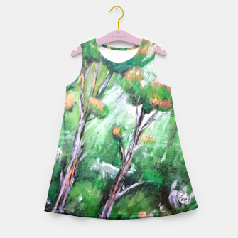 Thumbnail image of Moment in the forest Girl's summer dress, Live Heroes