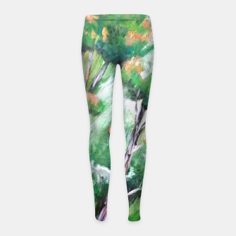 Thumbnail image of Moment in the forest Girl's leggings, Live Heroes