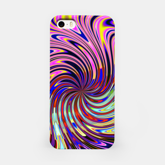 Psychedelic Swirl Hallucination (LH072) iPhone Case thumbnail image