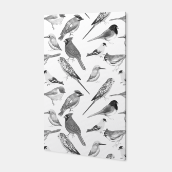 Thumbnail image of Black and white birds  Canvas, Live Heroes