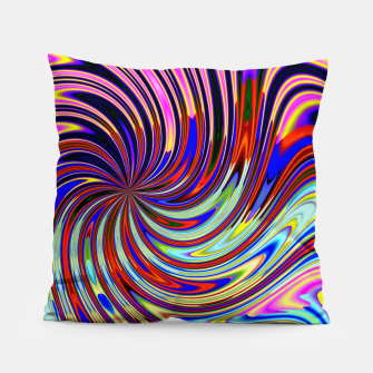 Psychedelic Swirl Hallucination (LH072) Pillow thumbnail image