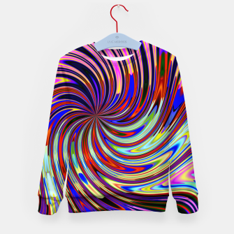 Psychedelic Swirl Hallucination (LH072) Kid's sweater thumbnail image