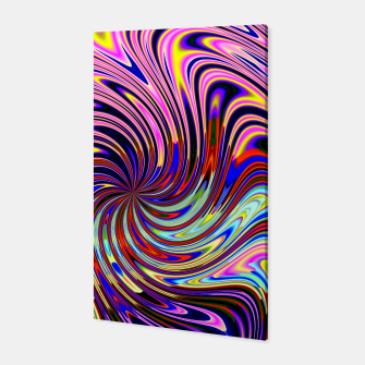 Psychedelic Swirl Hallucination (LH072) Canvas thumbnail image