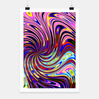Psychedelic Swirl Hallucination (LH072) Poster thumbnail image