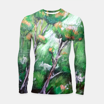 Thumbnail image of Moment in the forest Longsleeve rashguard , Live Heroes