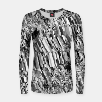 Thumbnail image of Static TV Snow Ants (LH053) Women sweater, Live Heroes
