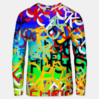 Thumbnail image of FUCK Unisex sweater, Live Heroes