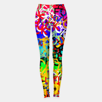 Thumbnail image of FUCK Leggings, Live Heroes