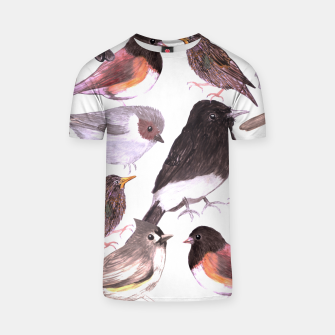 Thumbnail image of Wild birds T-shirt, Live Heroes