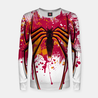 Thumbnail image of Spider hero Women sweater, Live Heroes