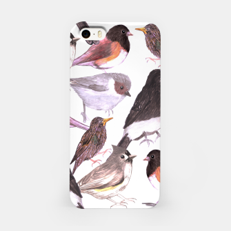 Miniatur Wild birds iPhone Case, Live Heroes