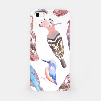 Miniatur Endangered birds iPhone Case, Live Heroes
